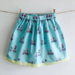 Fun to gather skirt