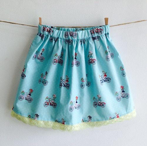 Fun to gather skirt