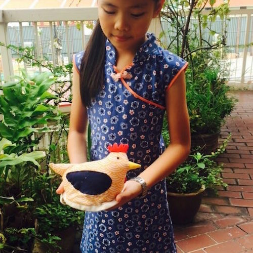 Kids Cheongsam Dress