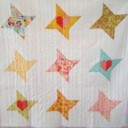 Twinkle Twinkle Lil' Stars Baby/Toddler Quilt (Level 1)