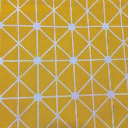 Geometric Grid on Yellow