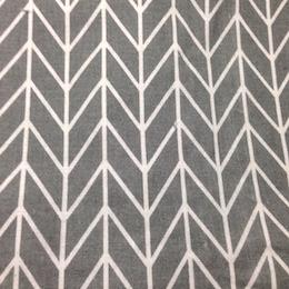 Herringbone on Grey