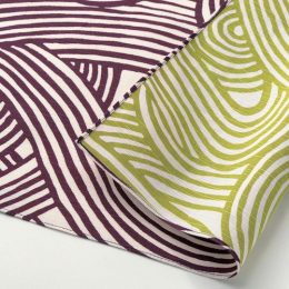 104 Isa monyo Reversible | Knot Purple:Green