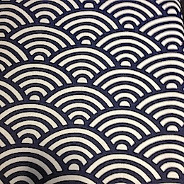 Japanese Waves in Blue