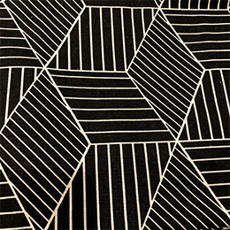 Optical Cubes on Black