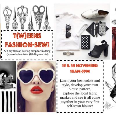 Tweens Fashion-Sew Flyer 2018