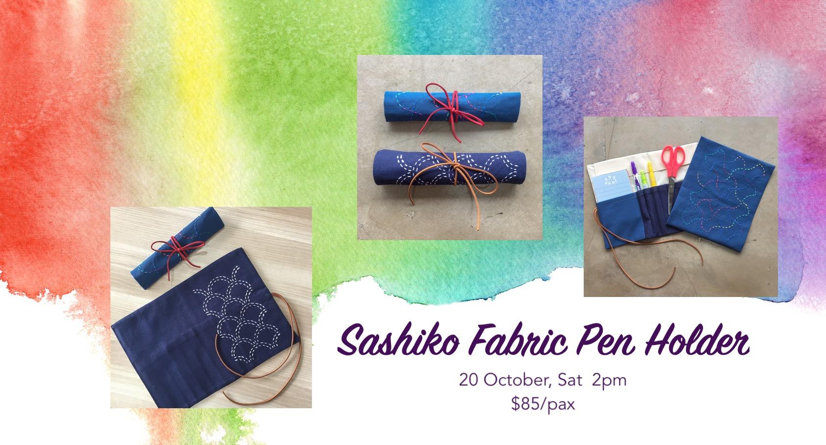 Sashiko Pen Holder