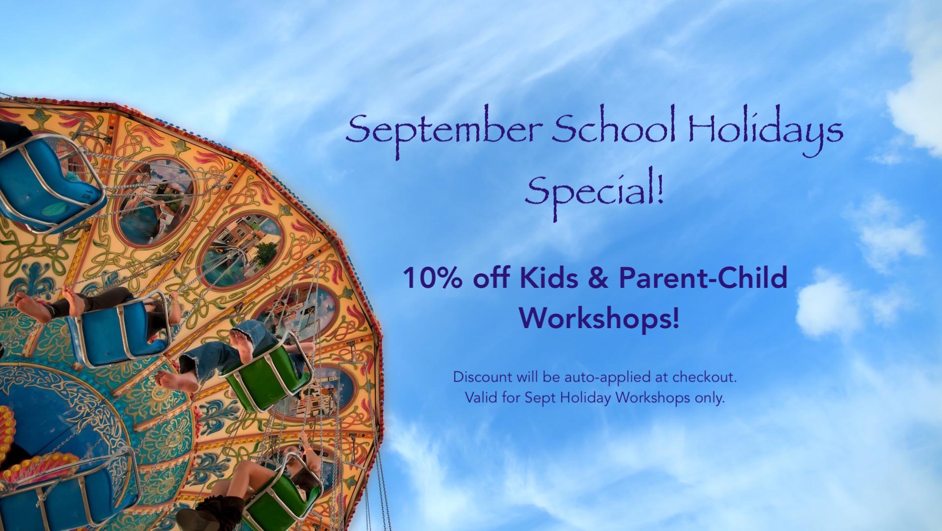 Sept School Hol Workshop