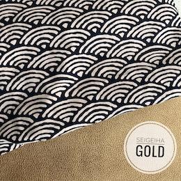 Seigaiha Gold