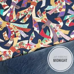 Japanese Ribbons Midnight