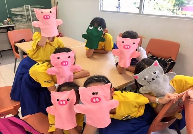 [1] Animal Hand Puppets