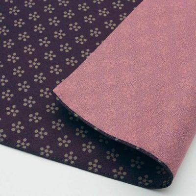 70 Toki-iro Reversible   Rikyubai (Japanese Apricot) Purple:Pink