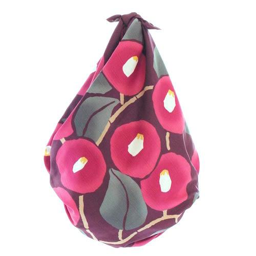 90 Yumeji Takehisa | Camellia Russet bag